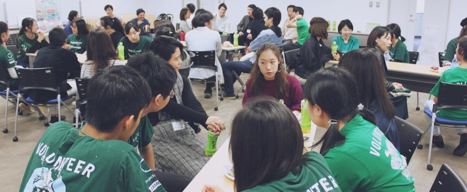 プロジェクトアブロード体験者の交流会